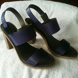 Aerin Chunky Heel Sandals